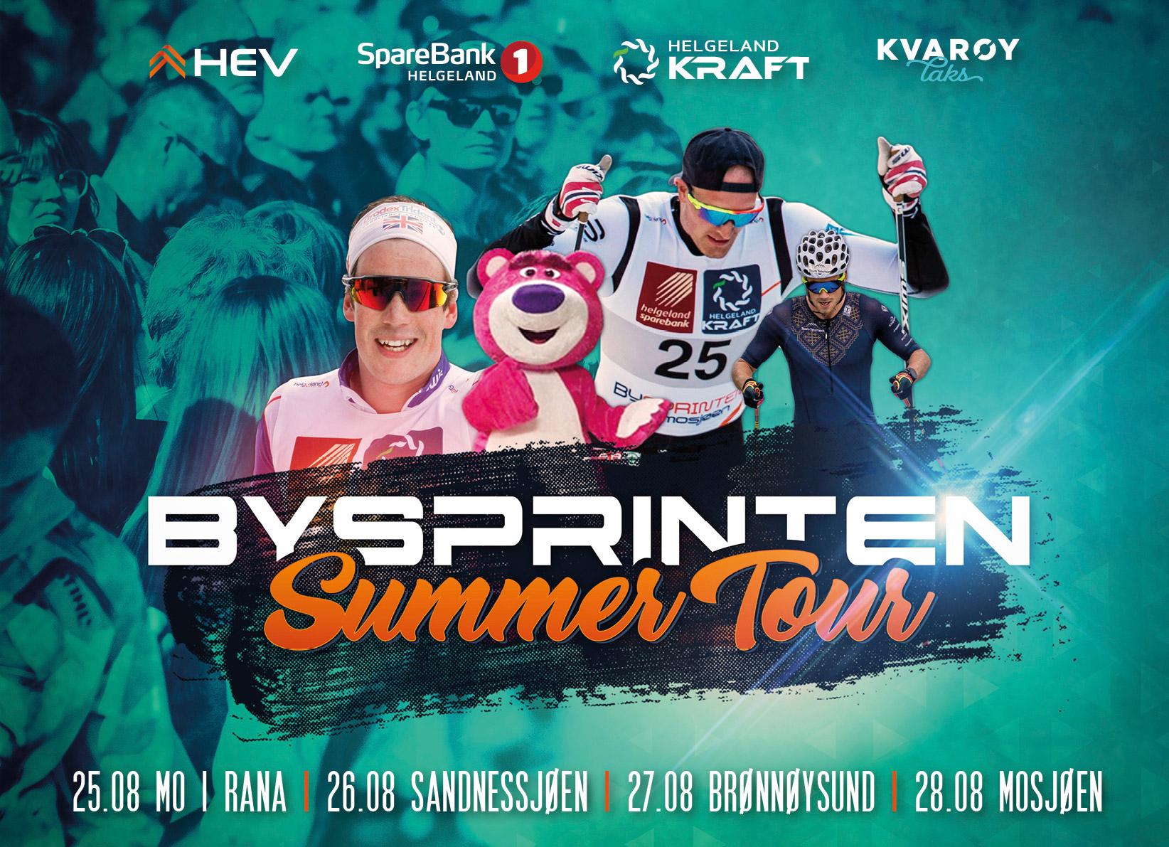 Bysprinten Summer Tour